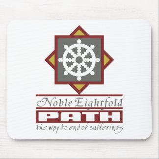 Buddhist Eightfold Path Mouse Pads