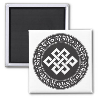 Buddhist Endless Knot Refrigerator Magnet