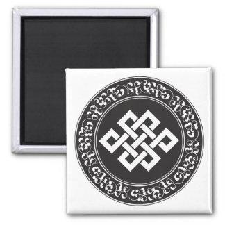 Buddhist Endless Knot Magnet