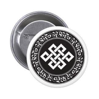 Buddhist Endless Knot Pin