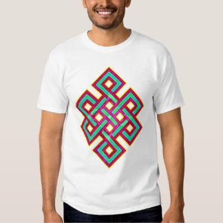 Buddhist Eternal Knot Tee Shirt