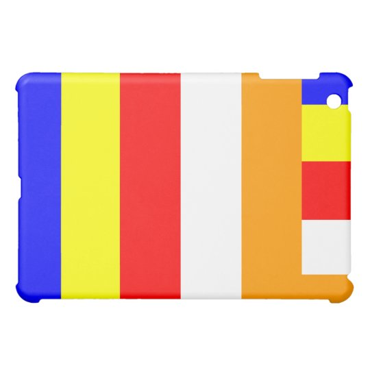 Buddhist Flag iPad Cover