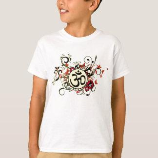 Buddhist Floral Om T-Shirt