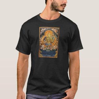 BUDDHIST GODDESS GREEN TARA METALLIC INLAY T-Shirt
