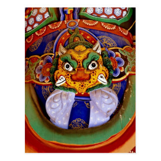 Buddhist image picture, temple postcard