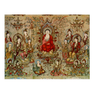 Buddhist Images Chang Sheng-wen Fine Art Postcard
