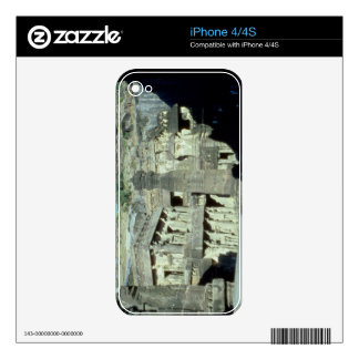 Buddhist, Jainist and Hindu caves at Ellora, 600-1 Skin For iPhone 4