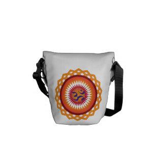Buddhist Mandala Messenger Bag