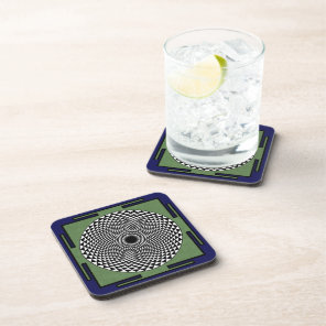 Buddhist Meditation wheel Coaster