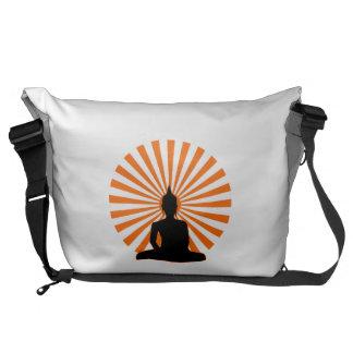 Buddhist Messenger Bag