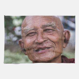 Buddhist Monk Hand Towel