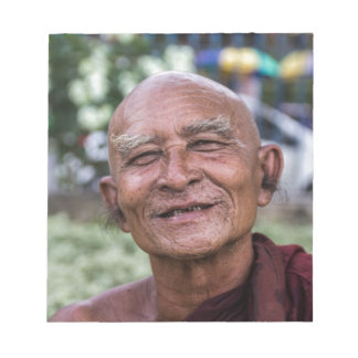 Buddhist Monk Notepad