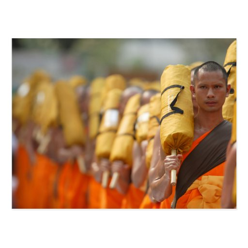 buddhist monk postcard zazzle