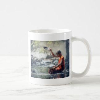 Buddhist Monk Washing Implements Coffee Mug