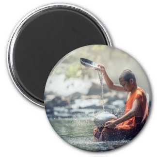 Buddhist Monk Washing Implements Magnet