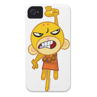 Buddhist Monkey Punch your iPhone iPhone 4 Cover