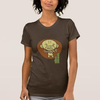 Buddhist Monkey Remain Calm T-shirts