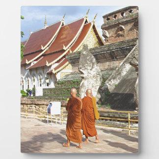 Buddhist Monks Photo Plaques