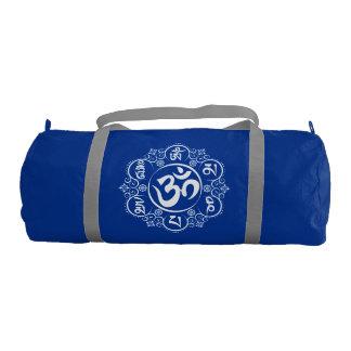 Buddhist Om Mani Padme Hum Mantra Gym Bag