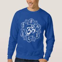Buddhist Om Mani Padme Hum Mantra Sweatshirt