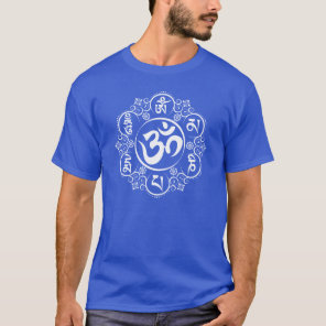 Buddhist Om Mani Padme Hum Mantra T-Shirt