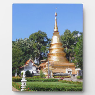 Buddhist pagoda and temple gardens photo plaques