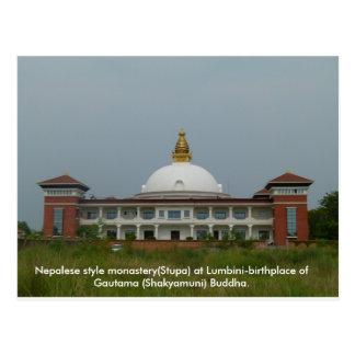 Buddhist Pilgrimage Postcard
