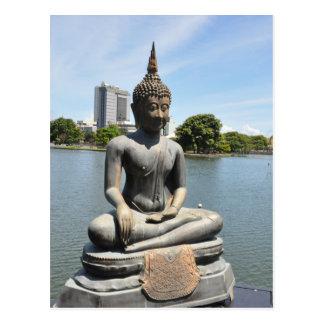 Buddhist Postcard -  Sri Lanka