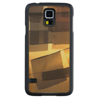 Buddhist prayer flags in the sunset, carved® maple galaxy s5 slim case