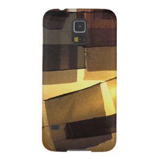 Buddhist prayer flags in the sunset, case for galaxy s5