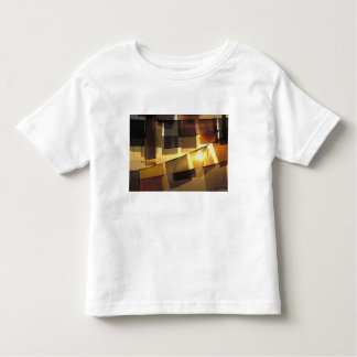 Buddhist prayer flags in the sunset, toddler t-shirt