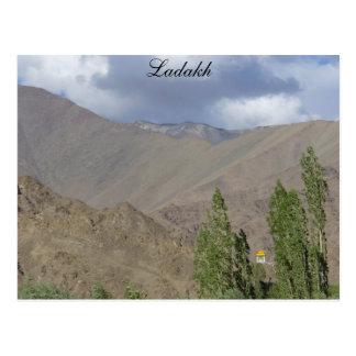 Buddhist prayer room, Saboo, Ladakh, India Postcard
