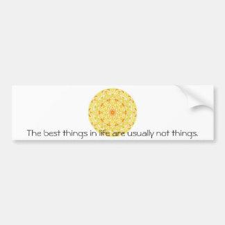 buddhist quote bumper sticker
