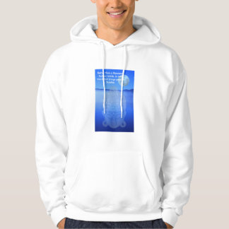 Buddhist quote hooded sweatshirt