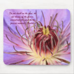 Buddhist quote mousepad