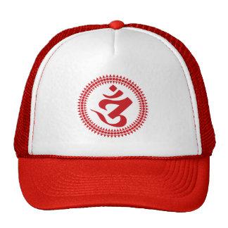 Buddhist Siddham Script Om Symbol Cap Trucker Hat
