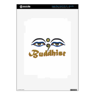 Buddhist Skin For iPad 3