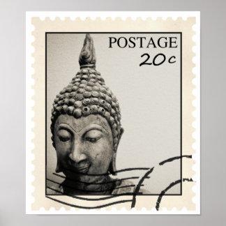 Buddhist Stamp Poster