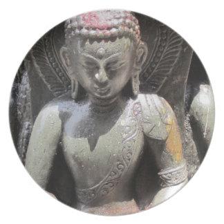 Buddhist Statue Plate