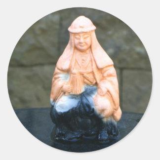 Buddhist Sticker