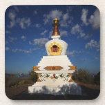Buddhist Stupa Coasters