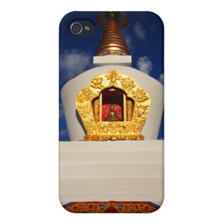 Buddhist Stupa Cover For iPhone 4