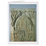 Buddhist stupa, Nagarjunakonda (limestone) Card