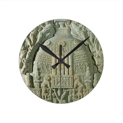 Buddhist stupa, Nagarjunakonda (limestone) Clocks