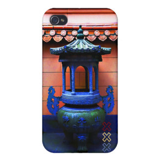 Buddhist Temple Amstergram iPhone 4 Cases