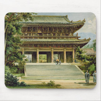 Buddhist temple at Kyoto, Japan Mouse Pad