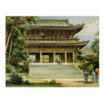 Buddhist temple at Kyoto, Japan Postcards