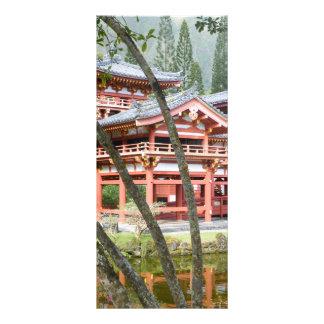 Buddhist Temple bookmark Custom Rack Cards
