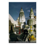 Buddhist Temple in Kathmandu, Nepal Print