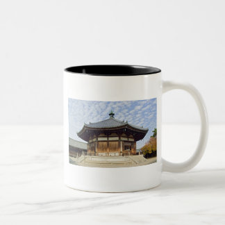 Buddhist temple Japan Two-Tone Coffee Mug